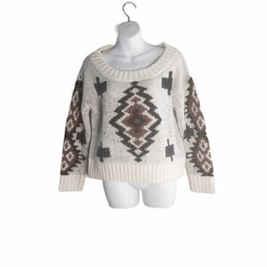 Chicwish Fuzzy Sweater Dropped Shoulder